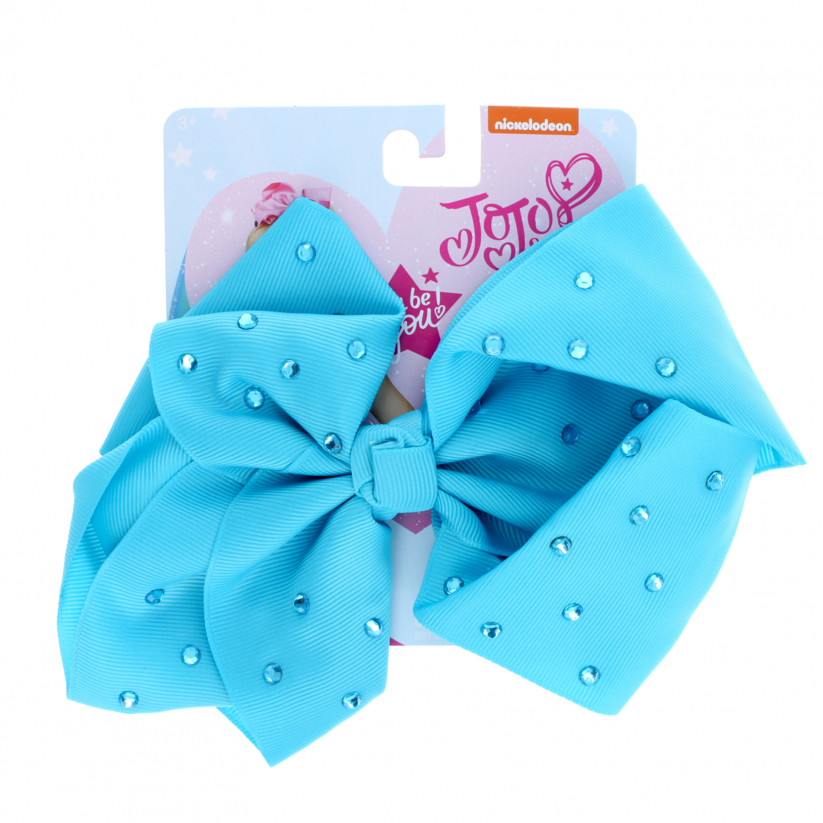 Nickelodeon Jojo Siwa Signature Big Hair Bow Hair Clip Gems