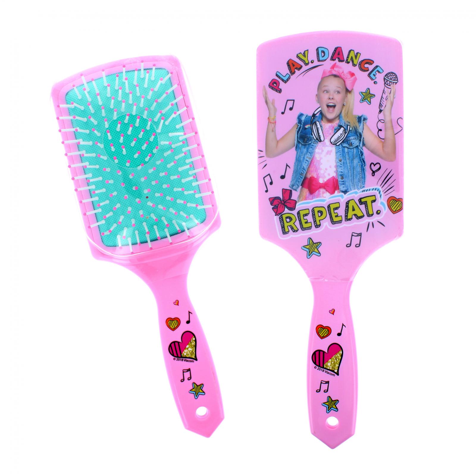 Nickelodeon JoJo Siwa Pink Printed Square Paddle Hair Brush