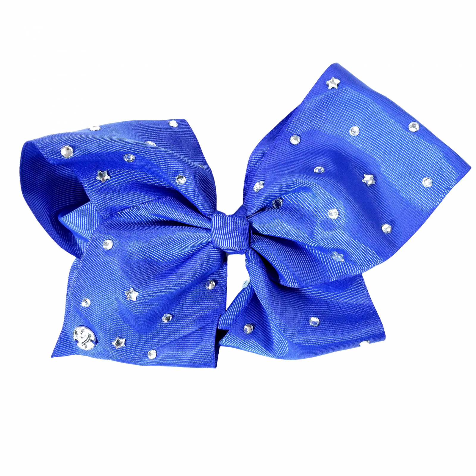 Nickelodeon JoJo Siwa Girls Large Navy Blue Bow Rhinestones