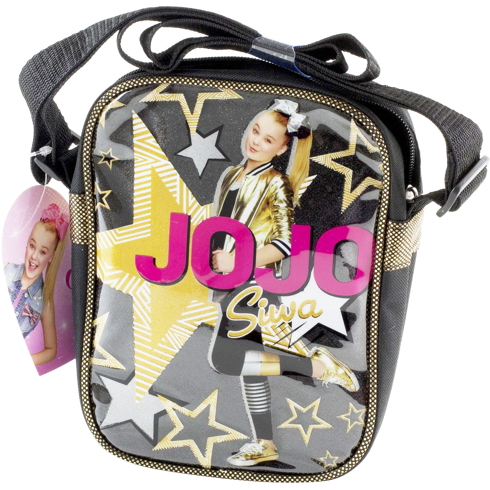 Nickelodeon JoJo Siwa Girls Crossbody Bag Purse Adjustable