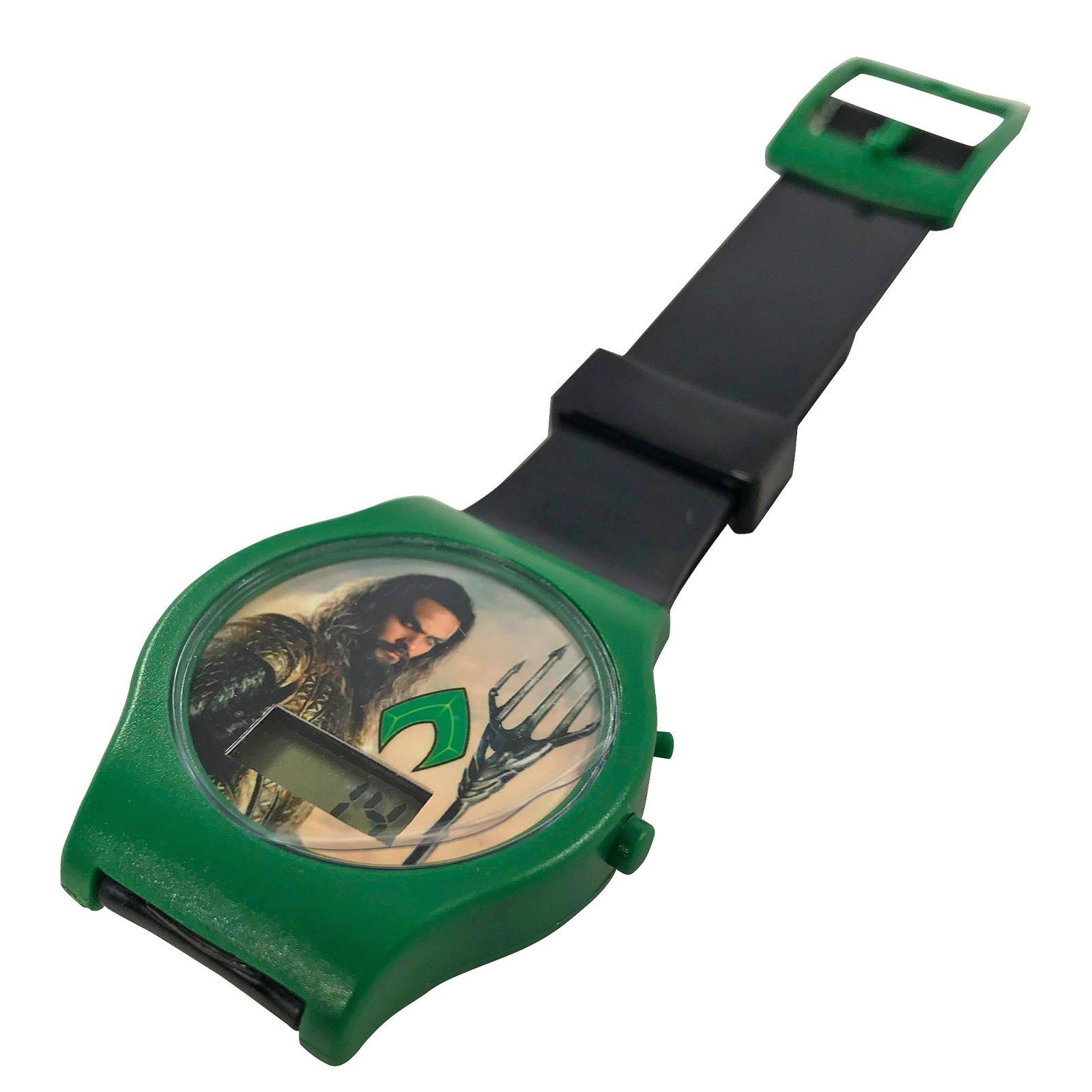 Aquaman Justice League Digital LCD Wrist Watch Kids Adjustable Strap