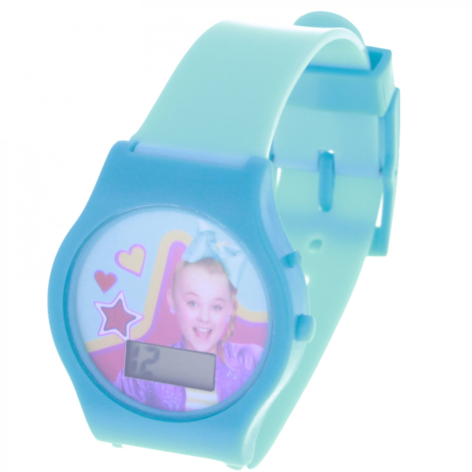 Nickelodeon JoJo Siwa LCD Digital Wrist Watch and Timer Blue