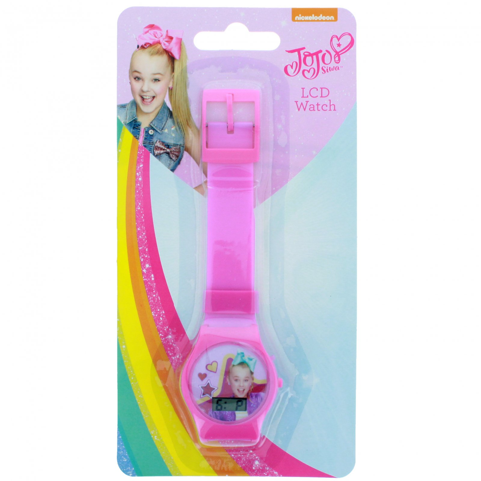 Nickelodeon JoJo Siwa LCD Digital Wrist Watch and Timer Pink