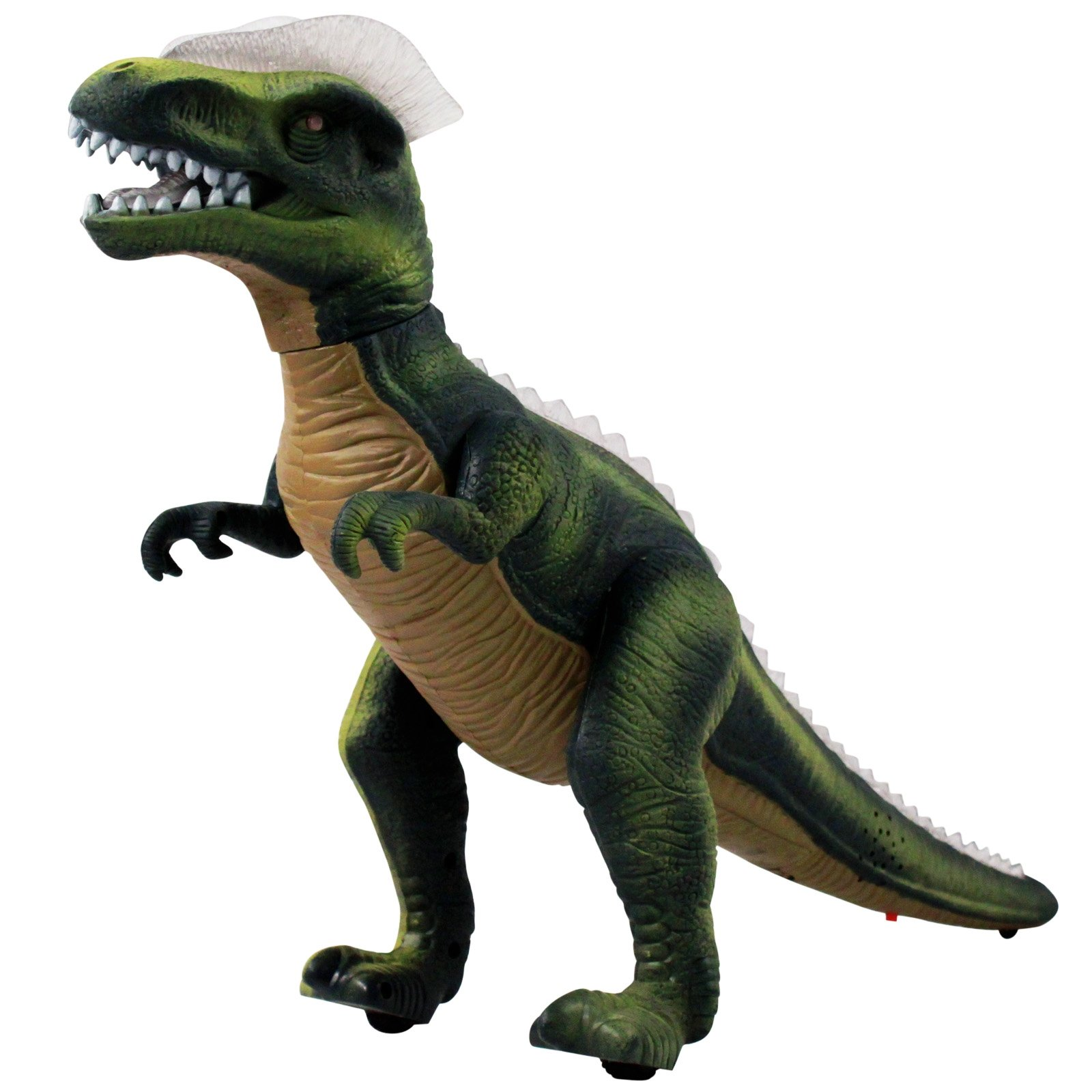 Dino Control Jurassic Rex RC Dinosaur Predator With Lights and Sounds - Green