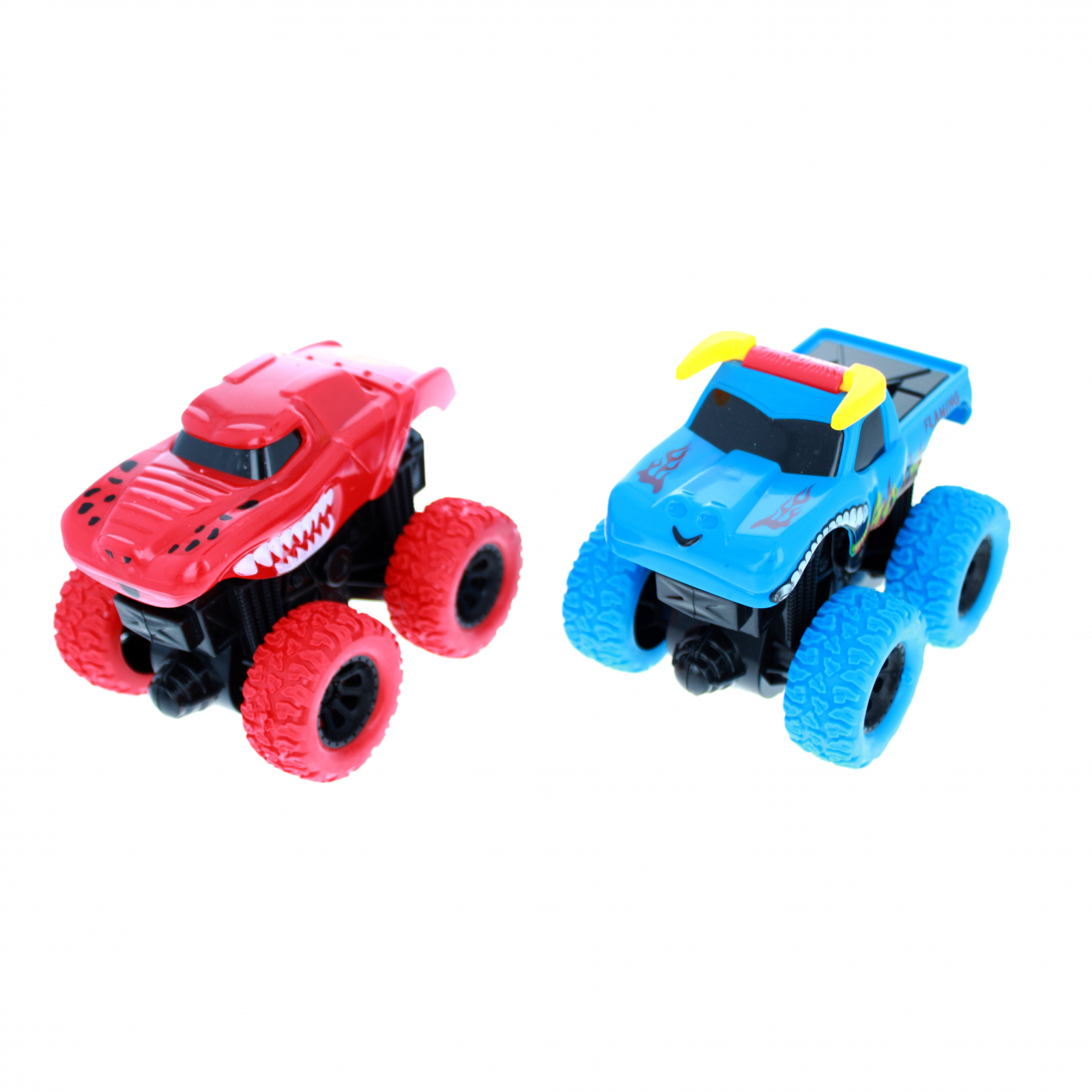 TychoTyke Kids Monster Truck Friction Powered Red Blue
