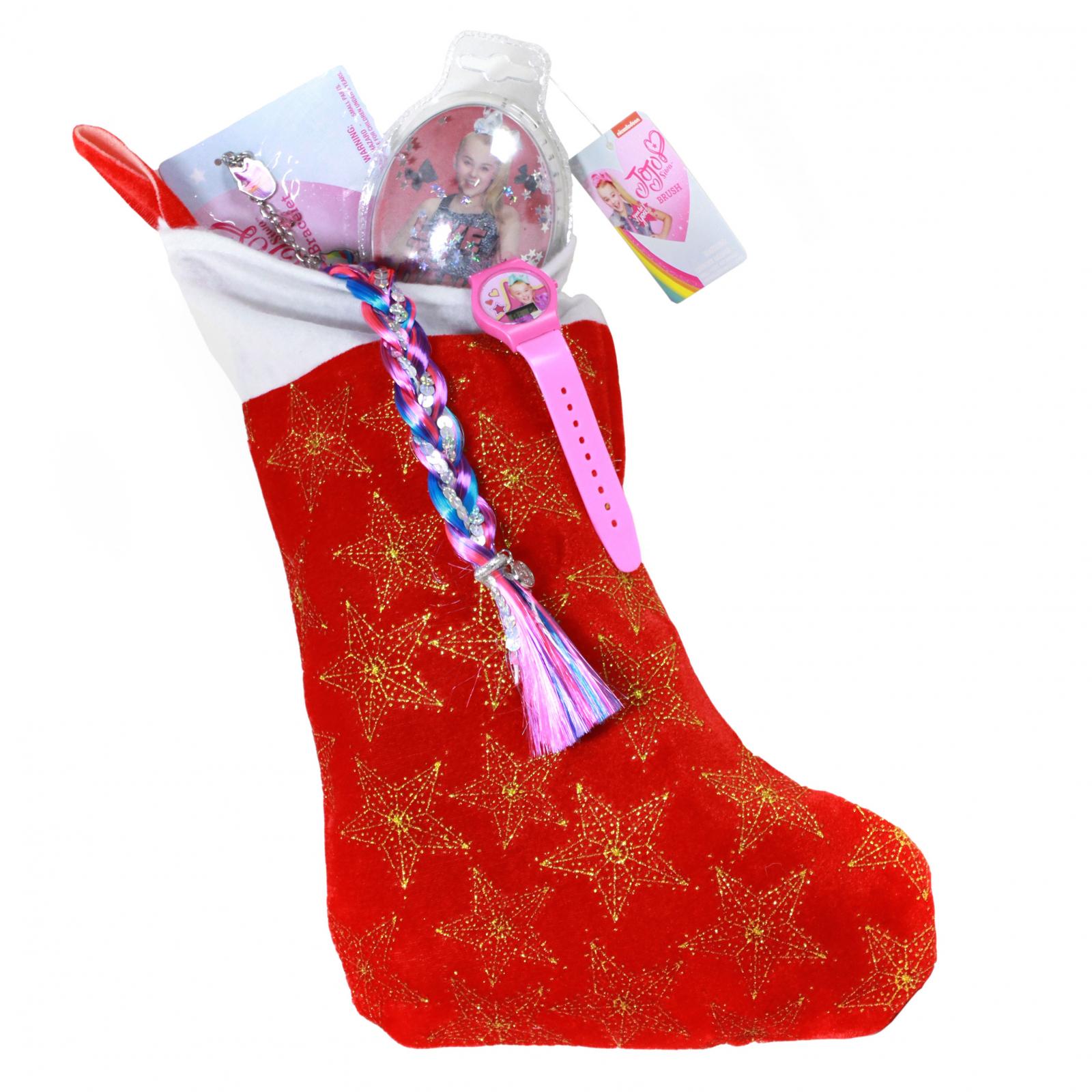 JoJo Siwa Kids Christmas Stocking Filled with Toys 6 Pieces