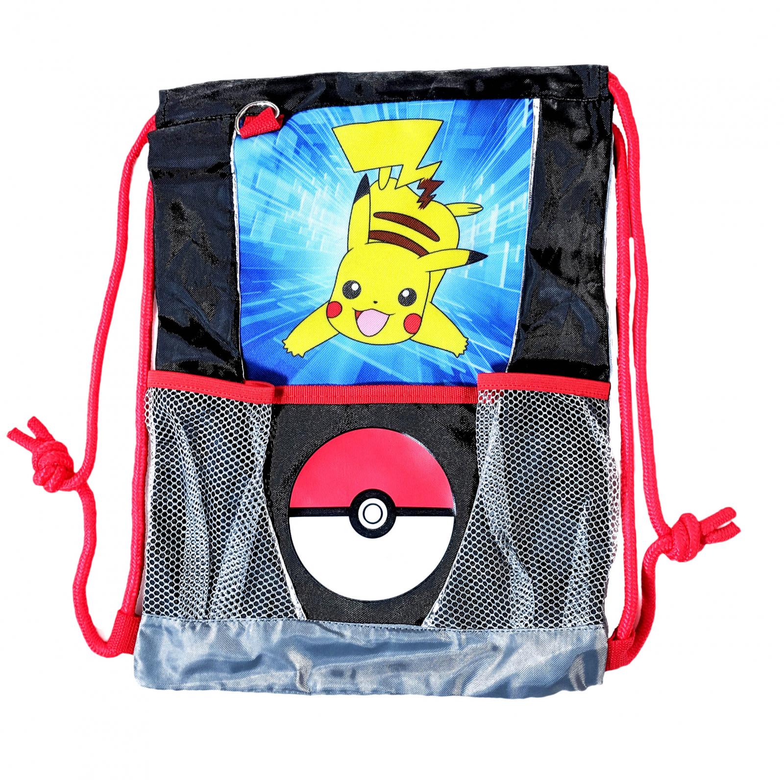 Nintendo Pokemon Sling Bag Kids Pikachu and PokeBall Tote