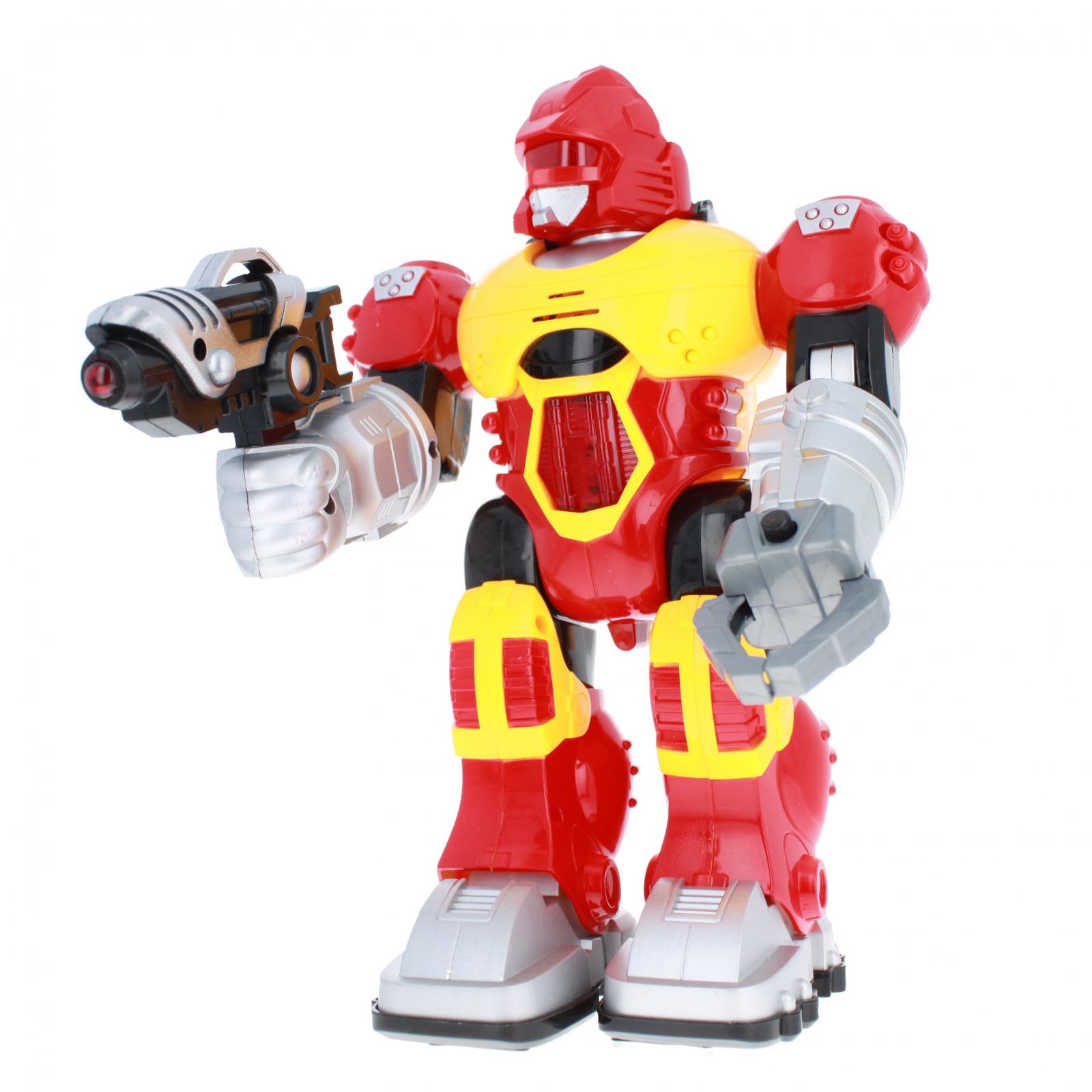 Power Warrior Light Up Super Robot Action Figure - Red