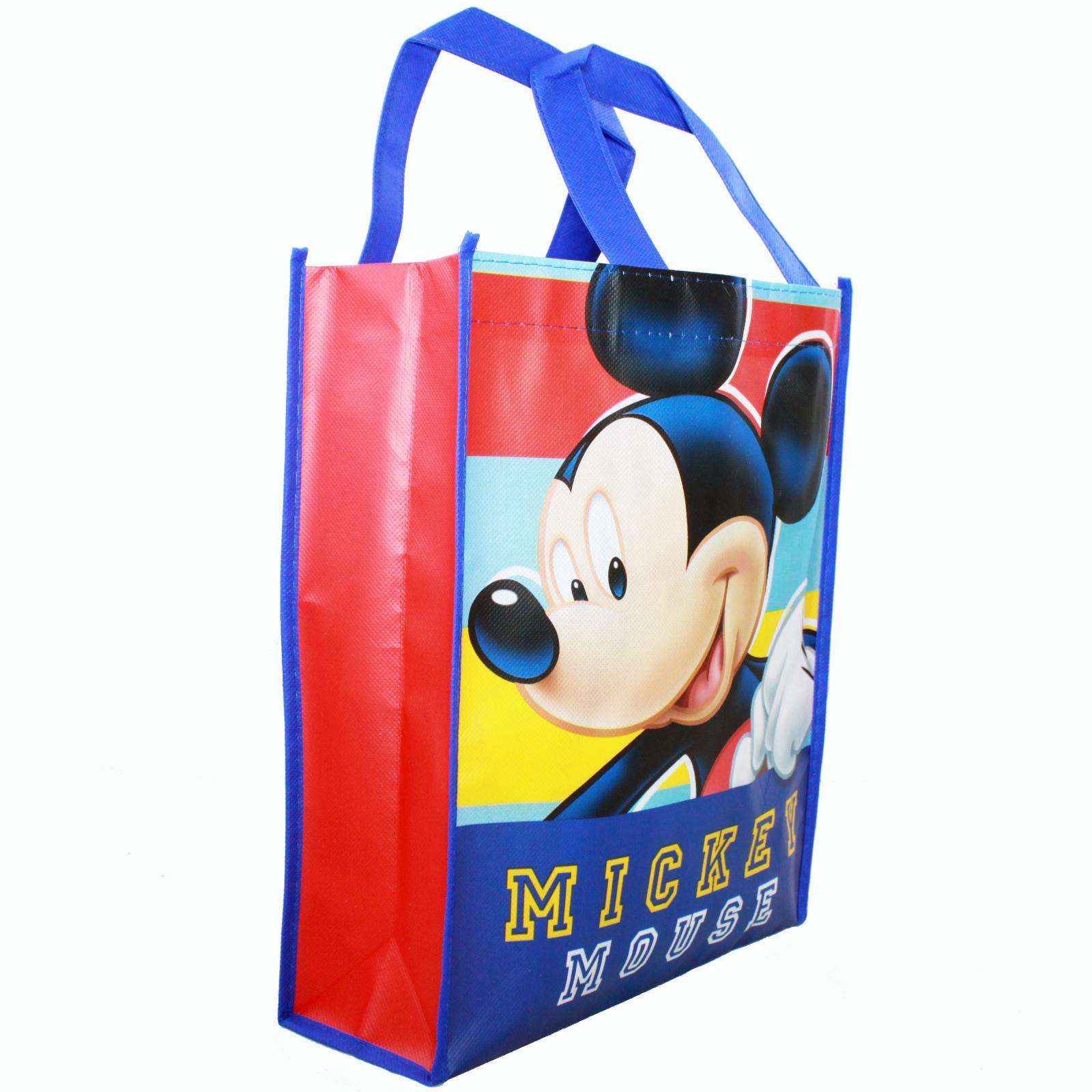 Disney Junior Mickey Mouse Club House Reusable 12 inch Non Woven Tote Bag