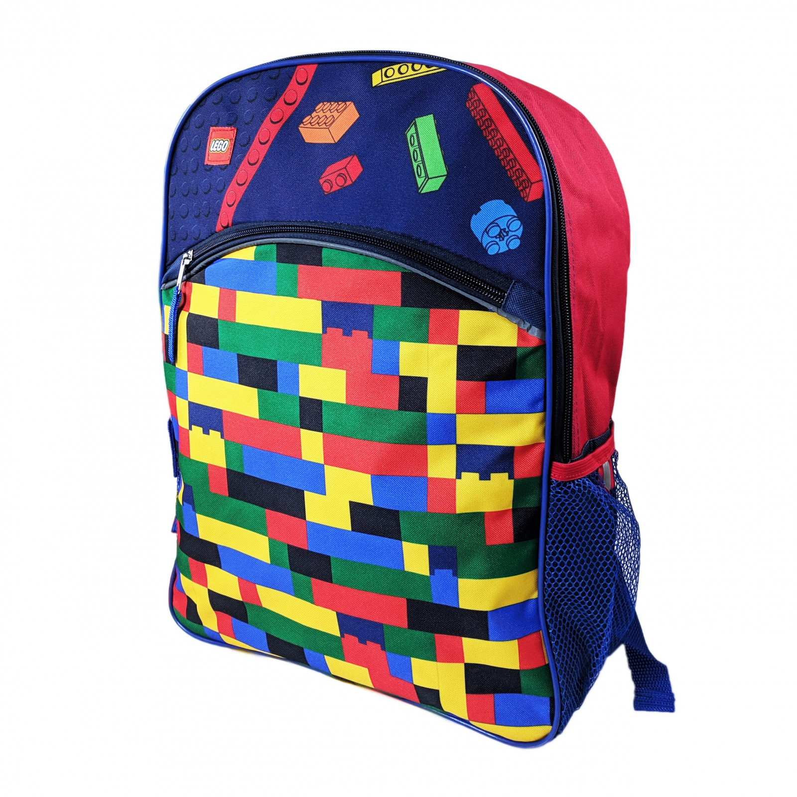 Lego Blocks Kids School Backpack 16 Inch Tall