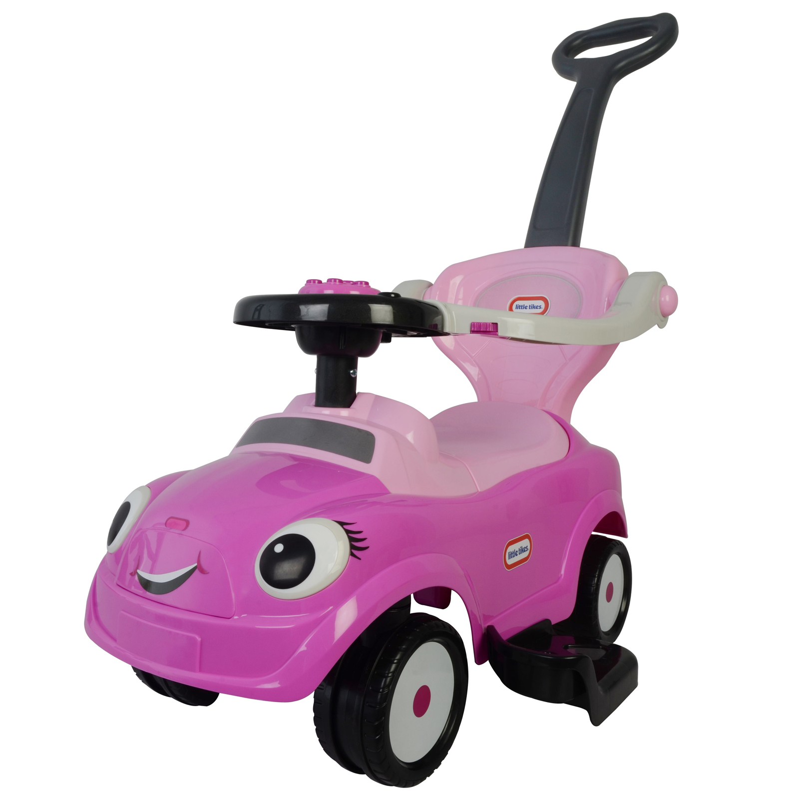 Little Tikes Kids 3 in 1 Ride On Push Car Stroller - Pink