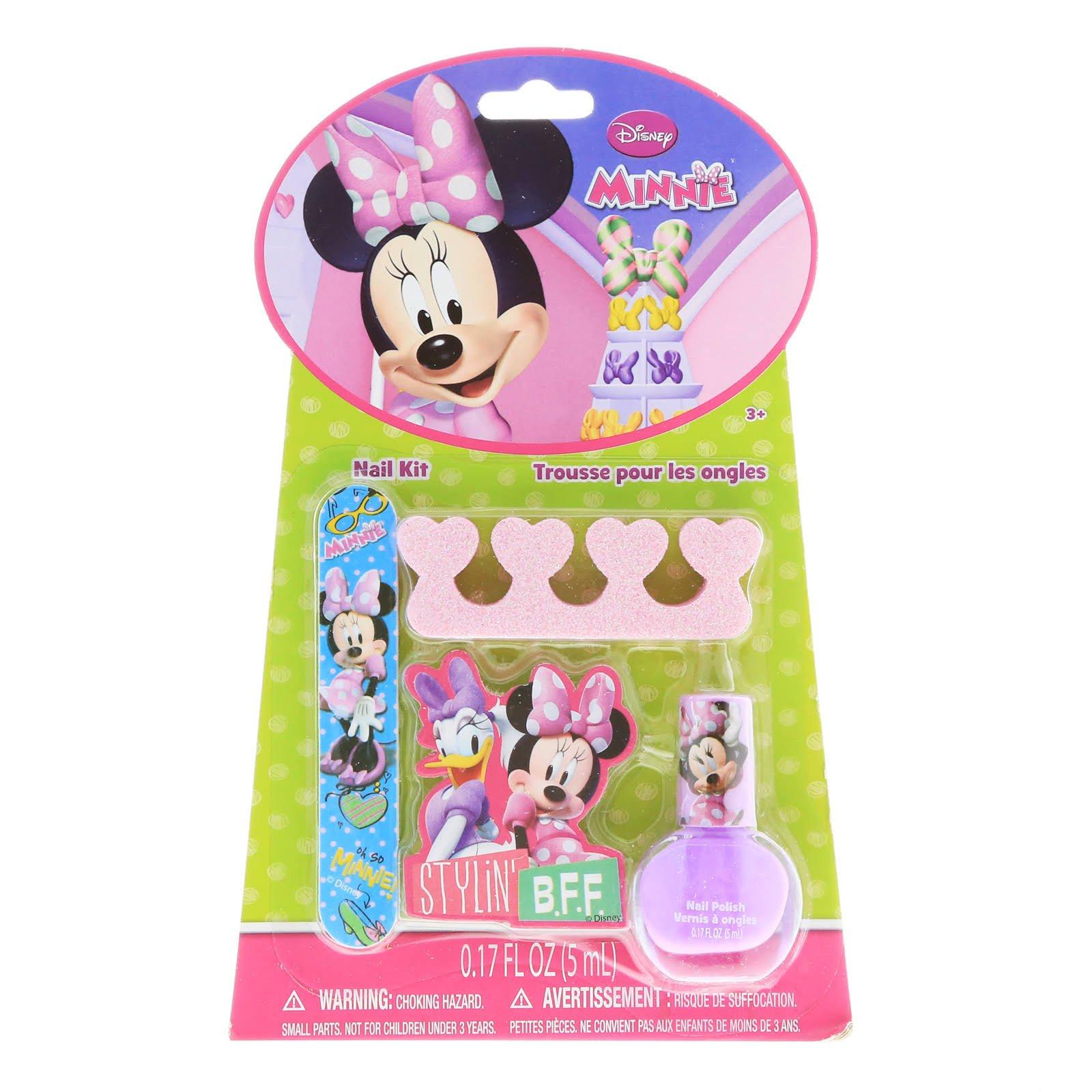 Minnie Mouse Complete Nail Kit 4 Piece Set