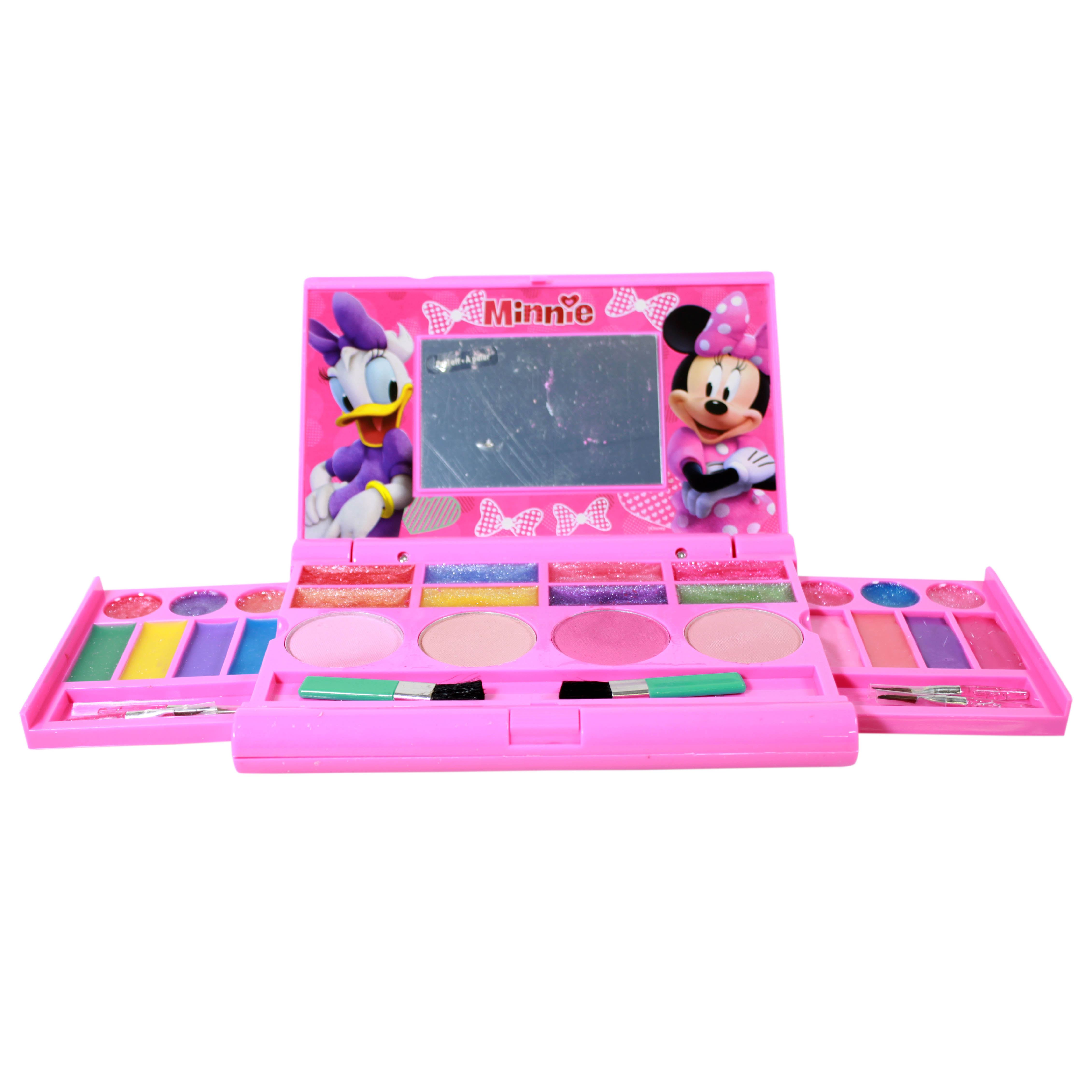 Disney Minnie Mouse Girls Cosmetics Compact Gift Box Set