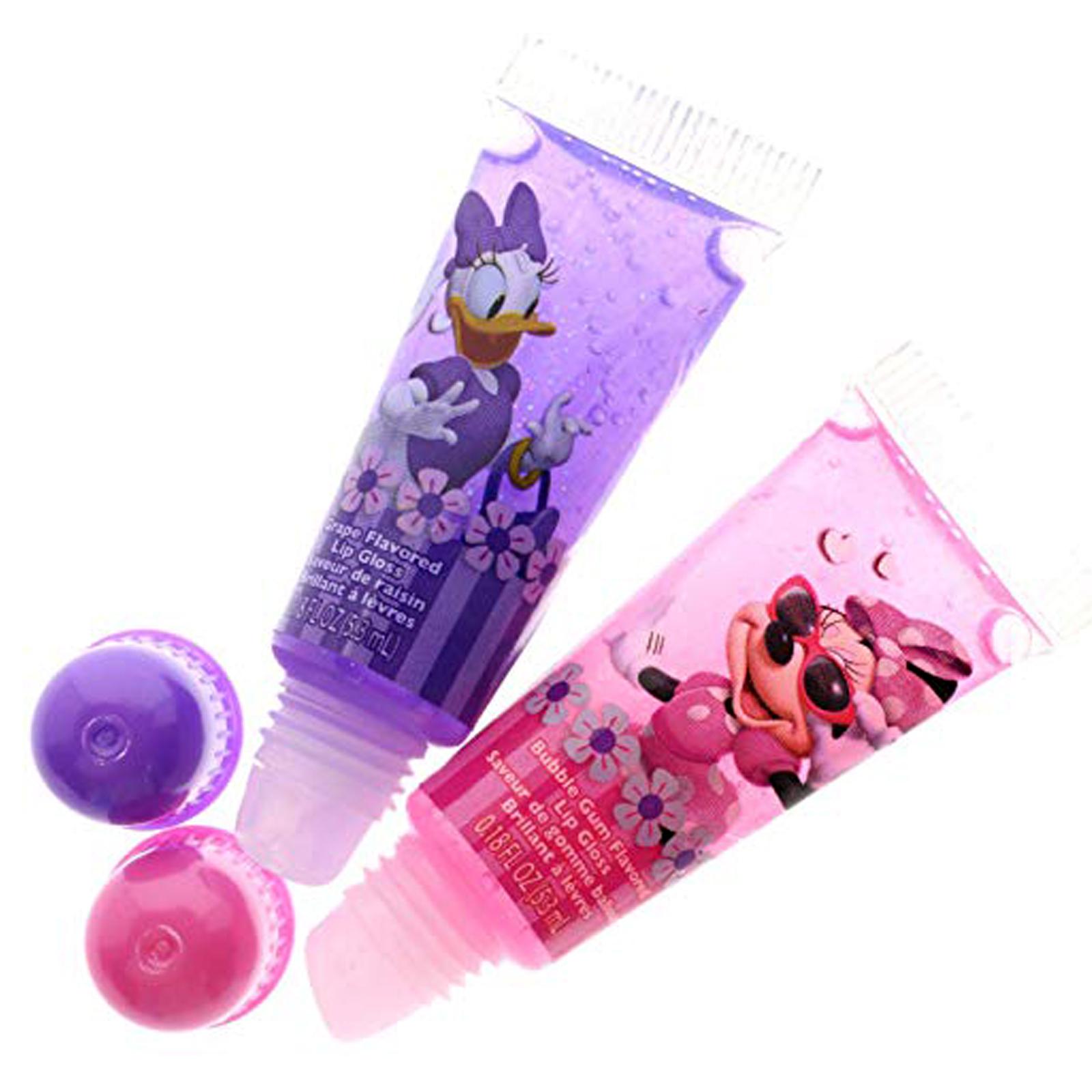 Disney Minnie Mouse and Daisy Duck Lip Gloss and Nail Polish Kit