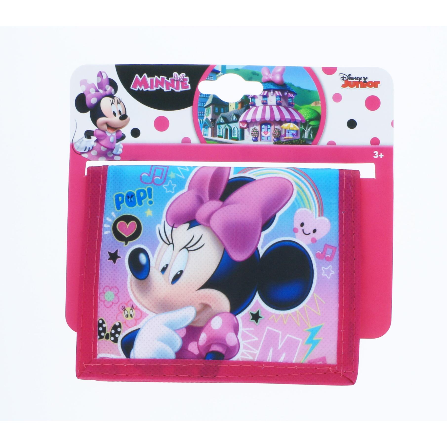 Disney Jr Minnie Mouse Non Woven Girls Bifold Wallet