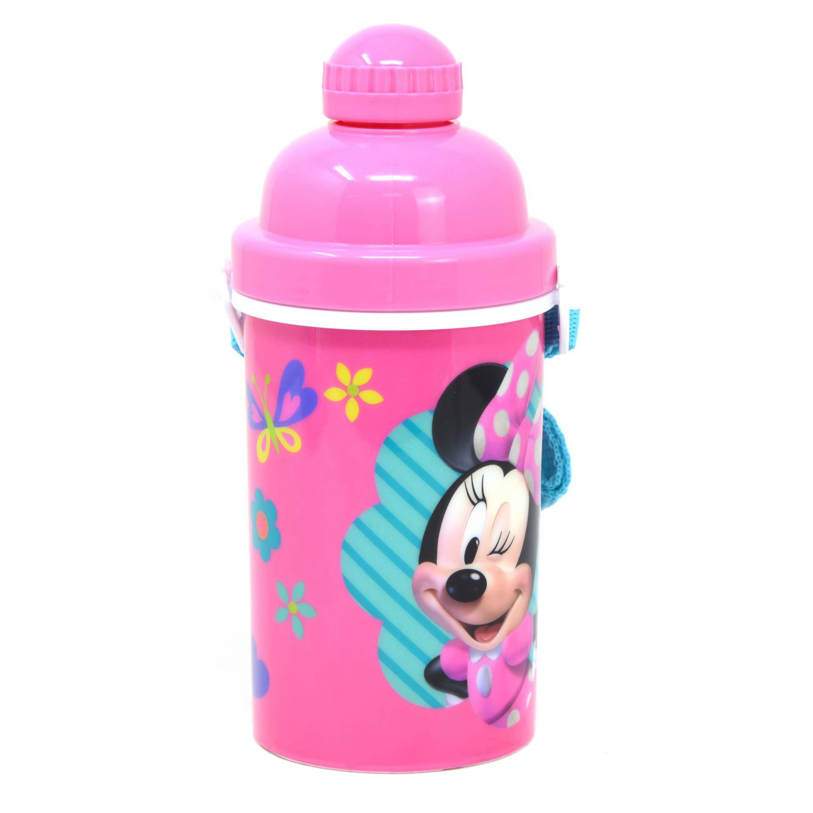 Disney Minnie Mouse Kids Water Bottle Canteen with Pop Top