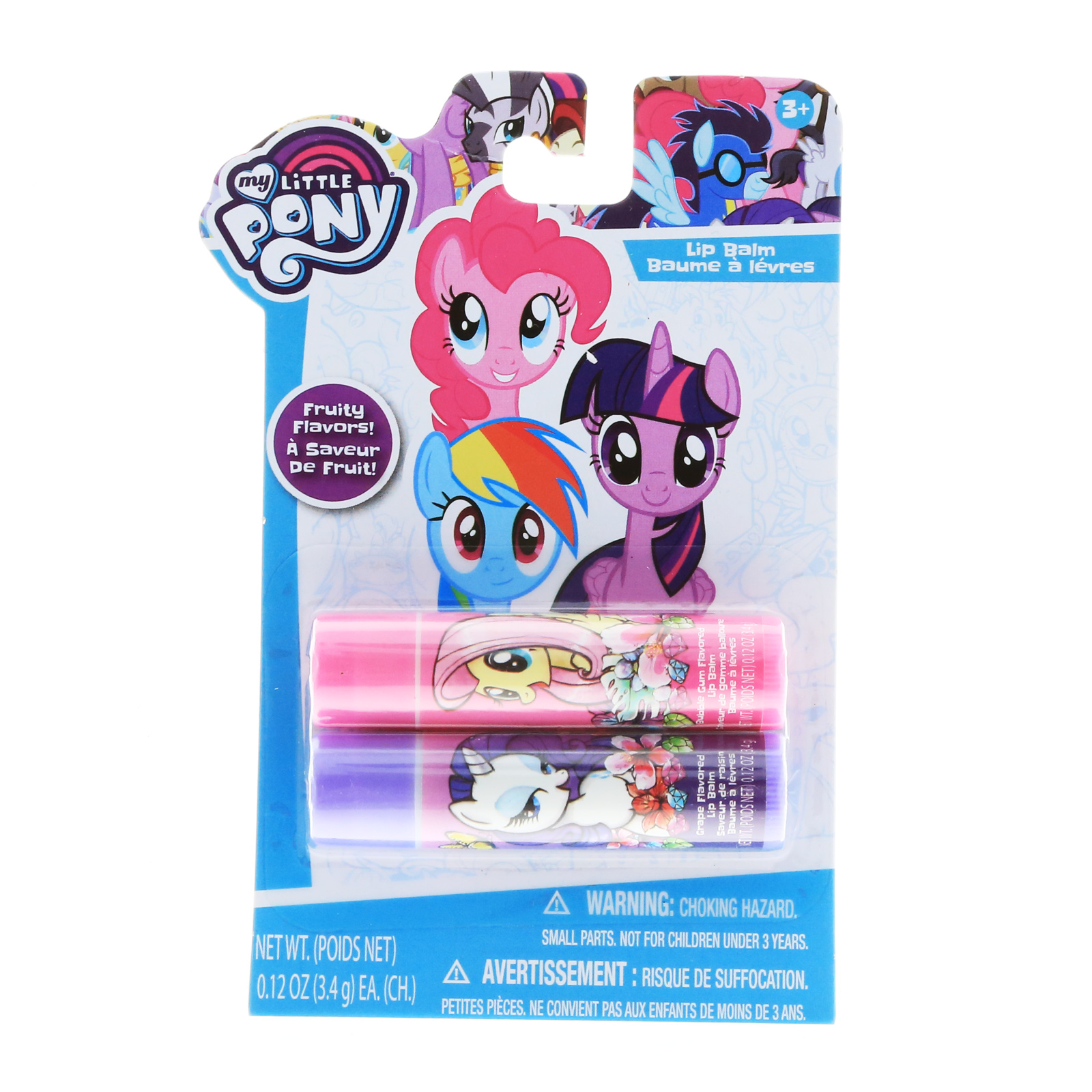 My Little Pony Girls Lip Balm 2pk With Fun Flavors