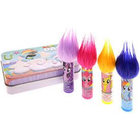 My Little Pony Friendship is Magic Collectible Rainbow Dash Tin Lip Balm Set