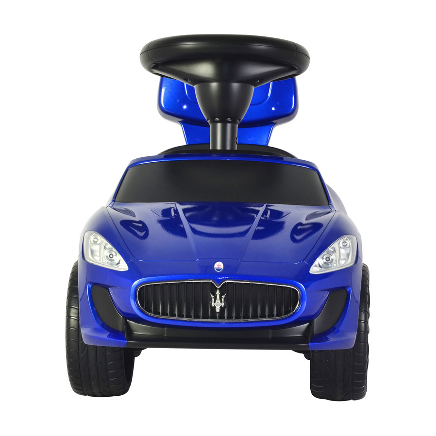 Maserati Ride On Kids Push Sports Sports Car Blue