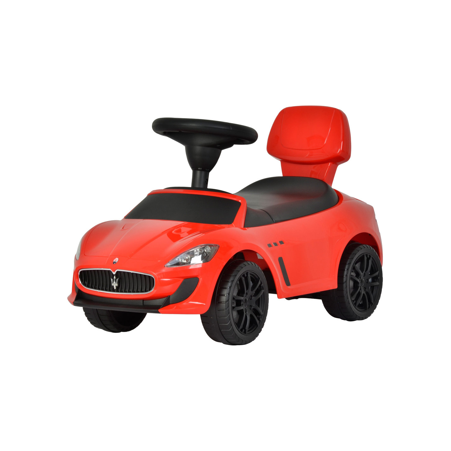 Maserati Ride On Kids Push Sports Sports Car Red