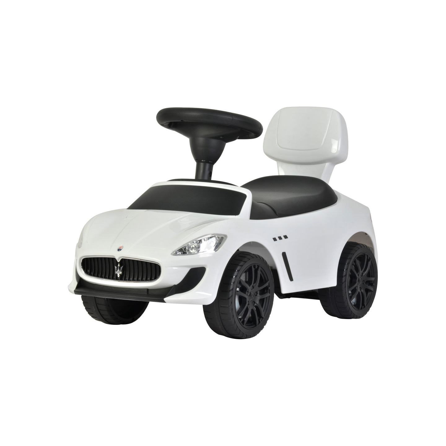 Maserati Ride On Kids Push Sports Sports Car White