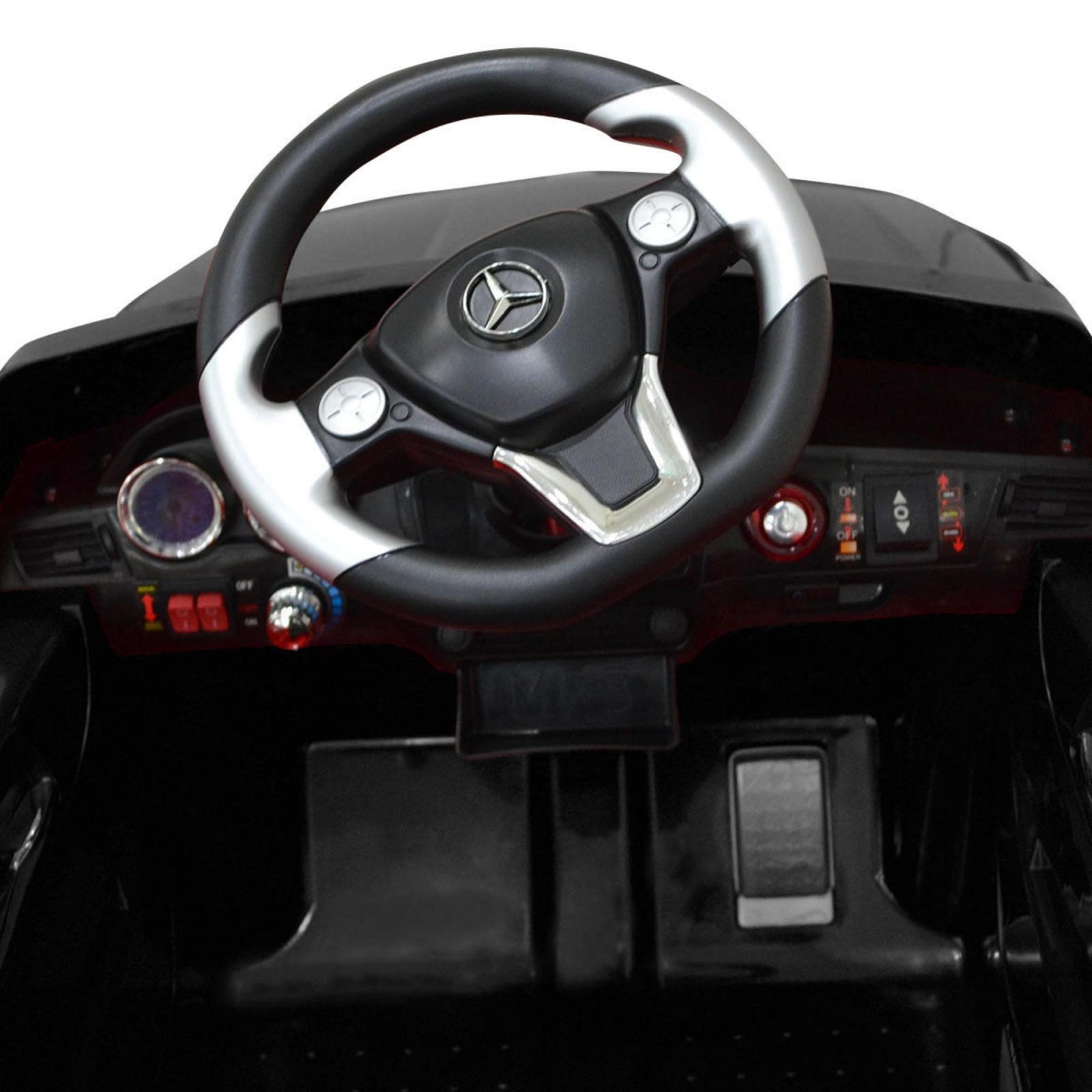 Licensed Mercedes Benz ML-350 6V Kids Battery Powered Ride On Car - Black