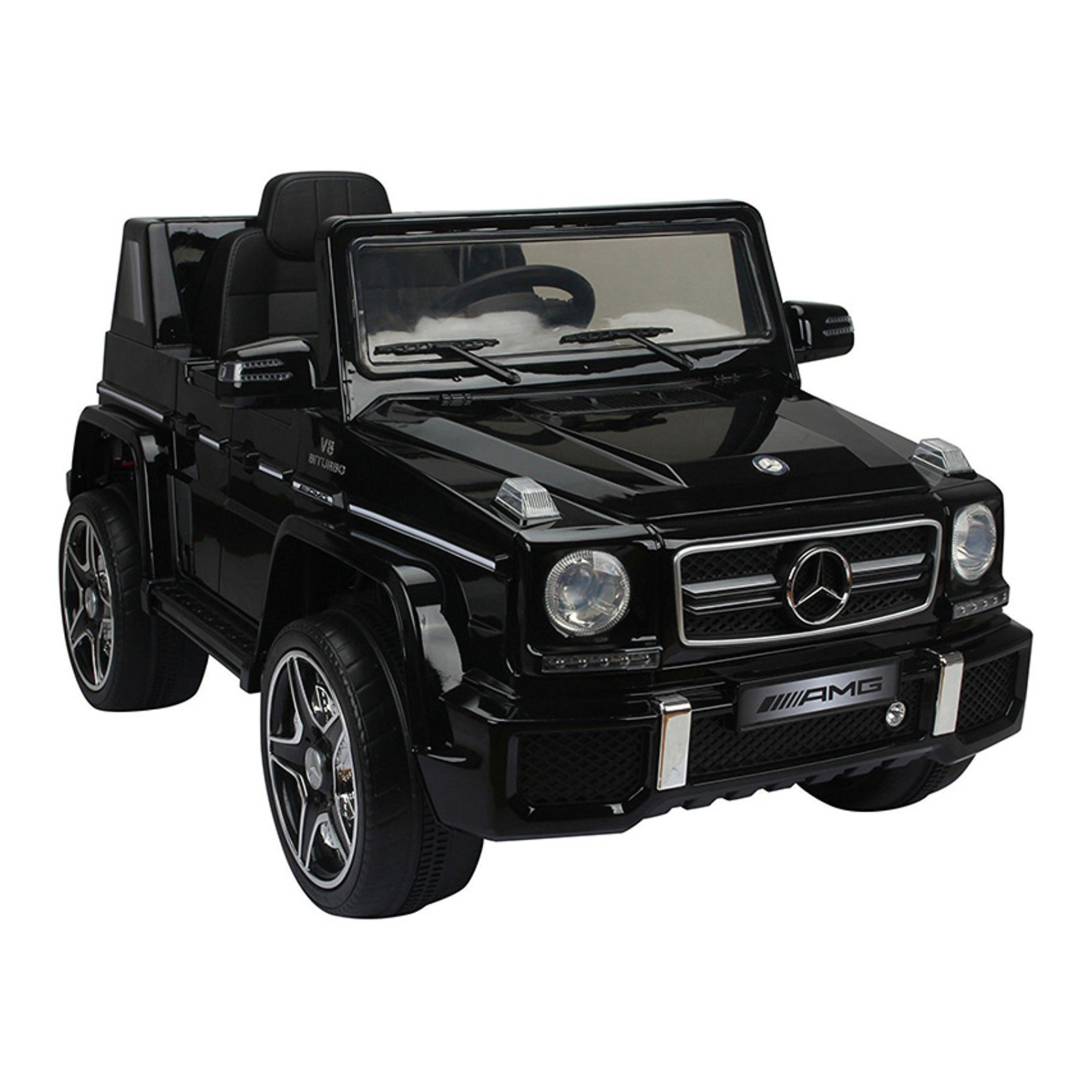 Mercedes G-63 12V Kids Ride On Car - Black