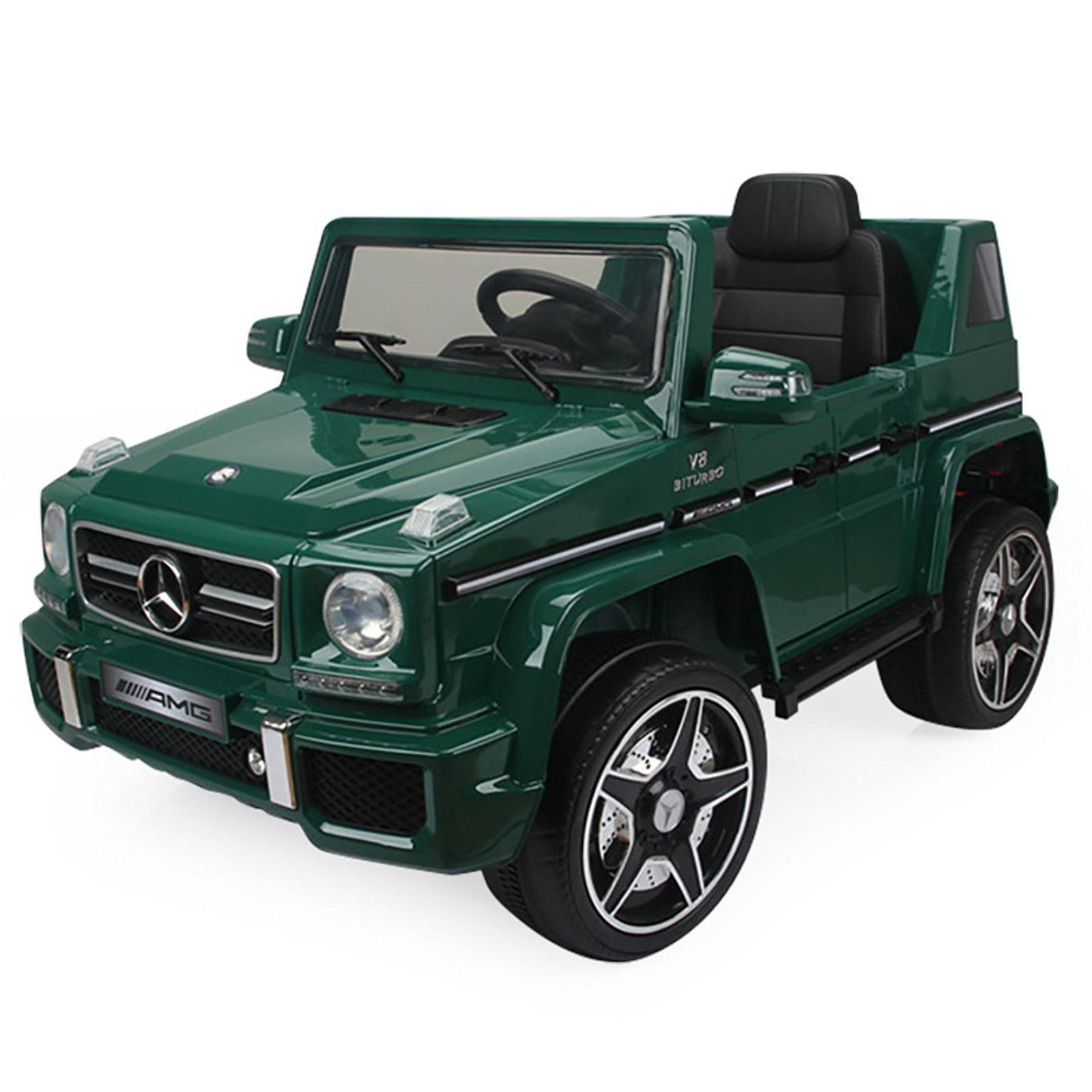 Mercedes G-63 12V Kids Ride On Car - Green