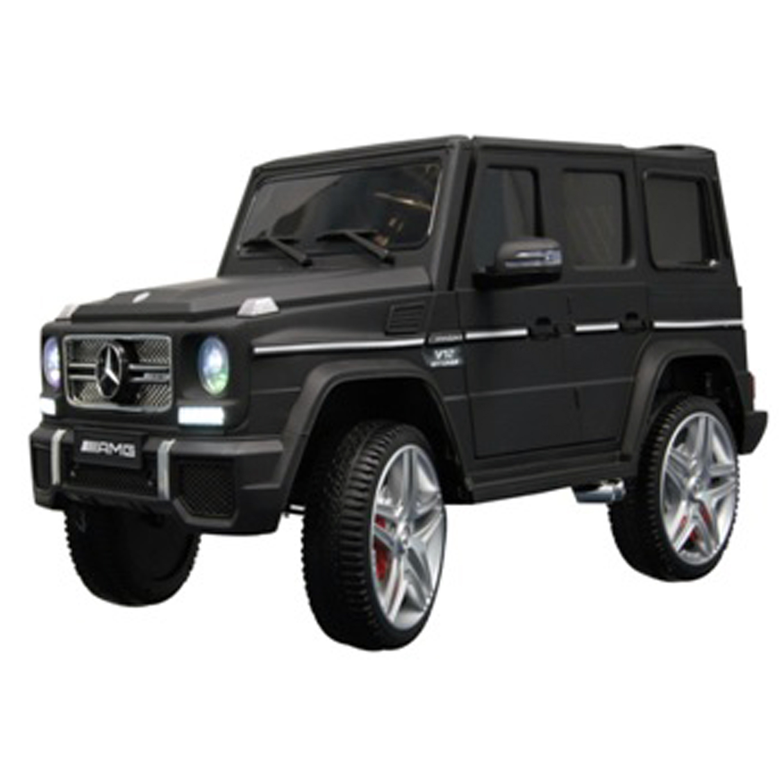 KidPlay Licensed Kids Ride On Car Mercedes G65 12V Battery Powered Vehicle Black