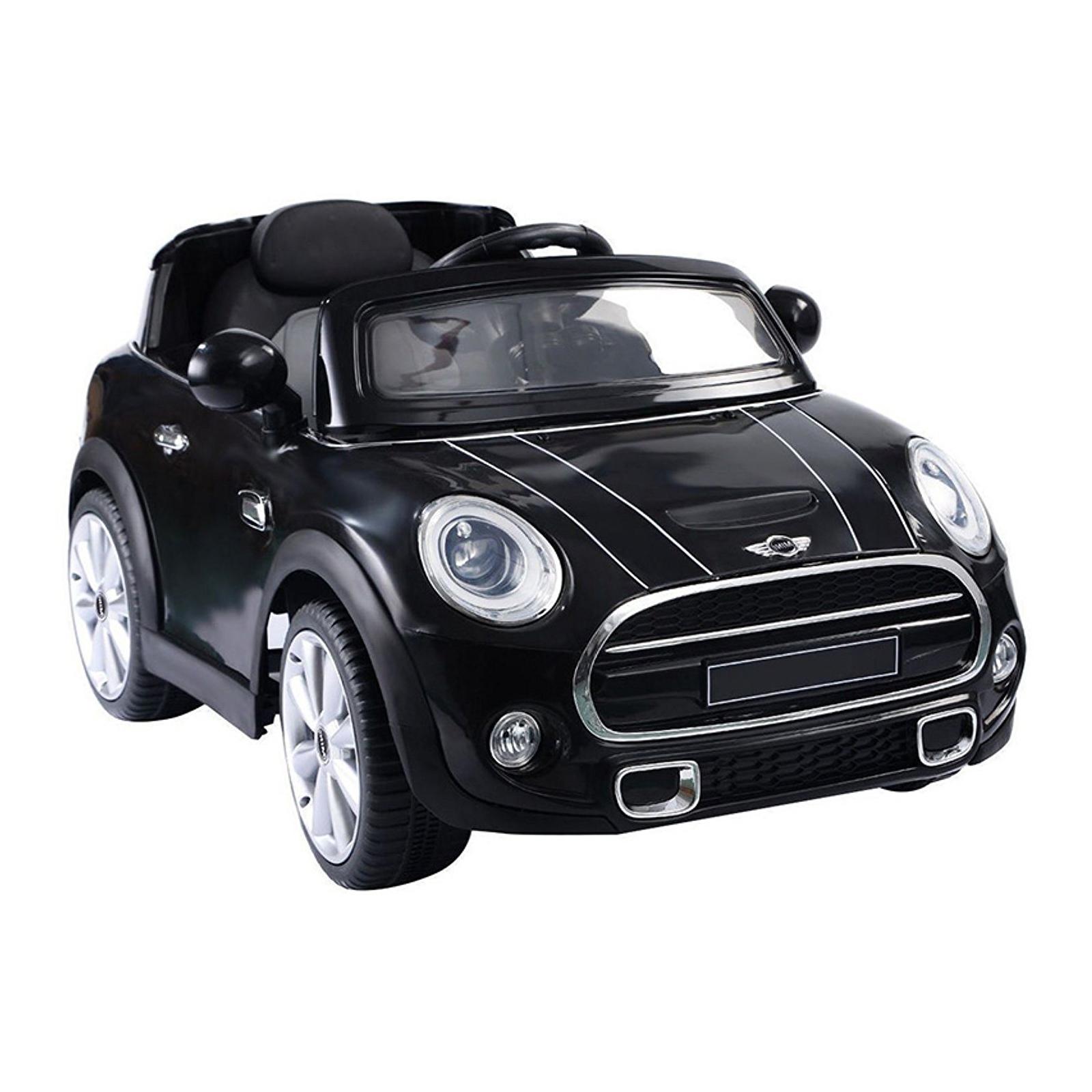 Mini Cooper Kids Ride On Car - Black