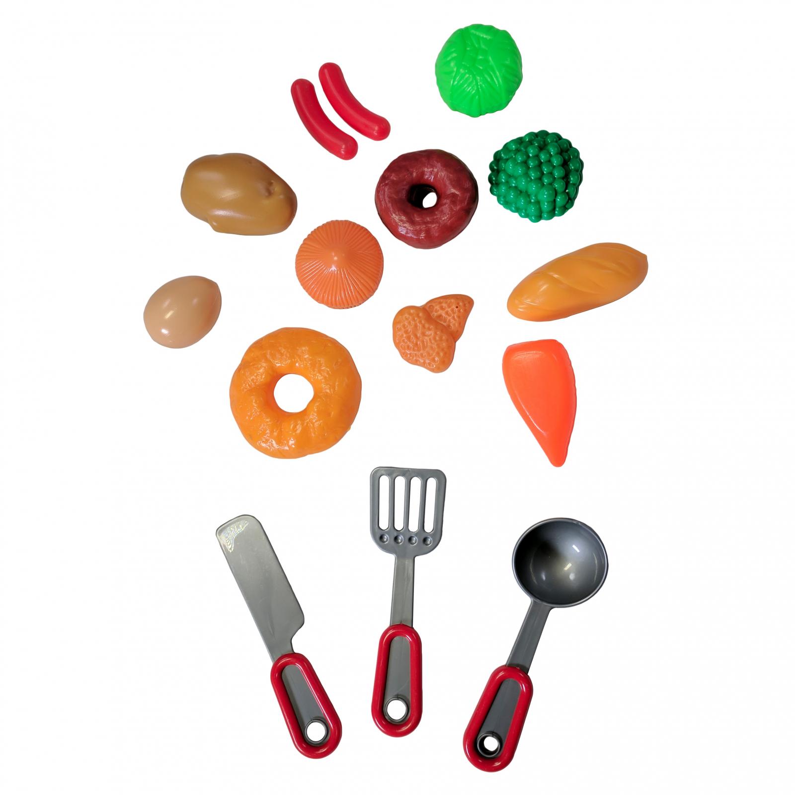 Kitchen Pan Play Set Plastic Utensils, Pan, Food Included