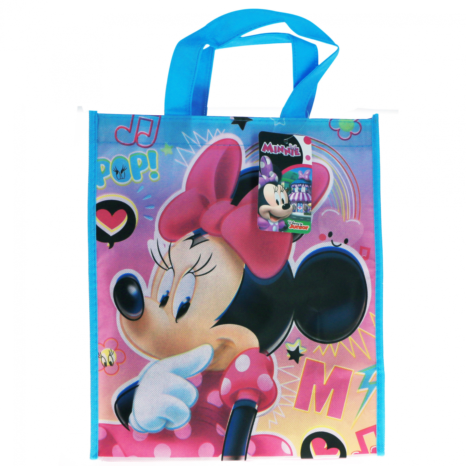 Disney Kids Minnie Reusable Medium Non Woven Tote Bag