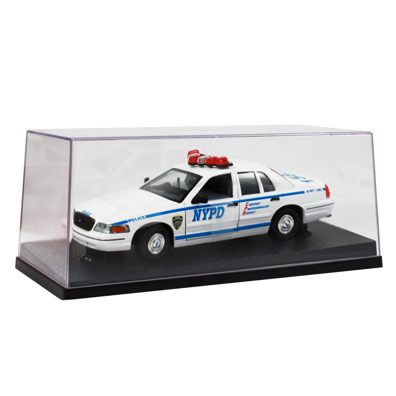 NYPD 1999 Ford Interceptor Police Car Replica 1:24 Scale