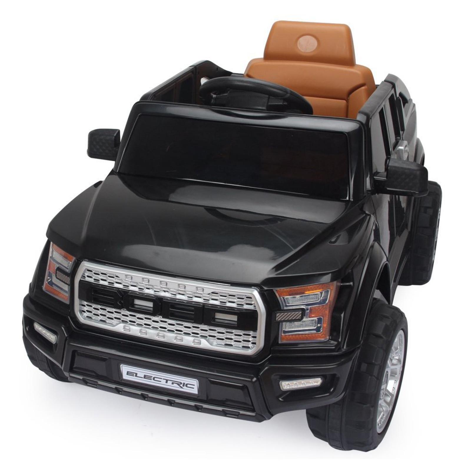 Off Roader 12V Kids Ride On Car - Black