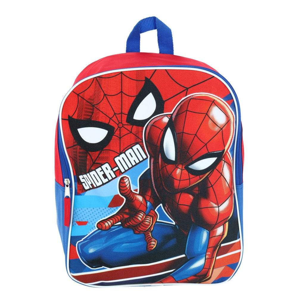 Marvel Spiderman 15 Inch Large Back to School Backpack