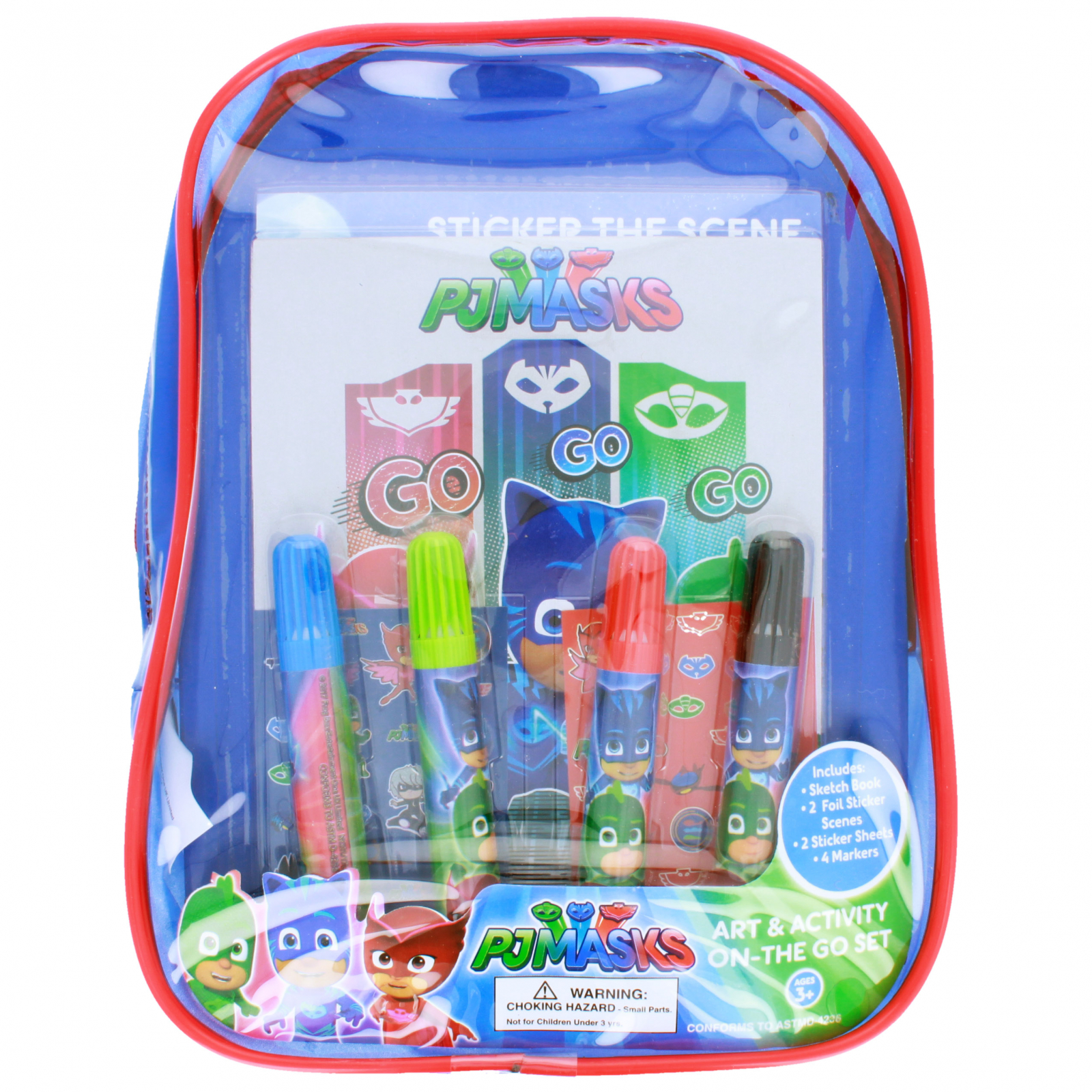 Disney Junior PJ Masks On The Go Art and Activity Backpack