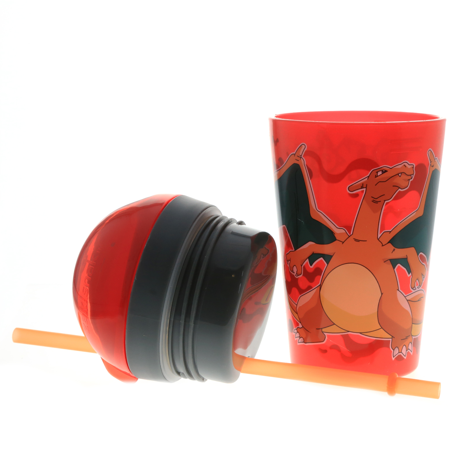 Pokemon Charizard Multi-Purpose Snack and Drink ZakSnak Tumbler BPA Free