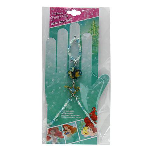 Disney Princess Jasmine Girls Ring Bracelet Costume Jewelry