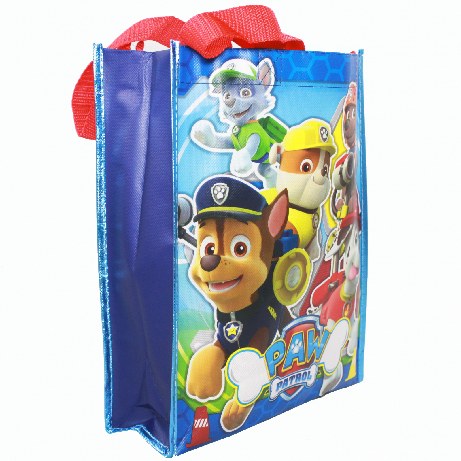 Nickelodeon Paw Patrol Reusable 12 inch Non Woven Grocery Tote Bag