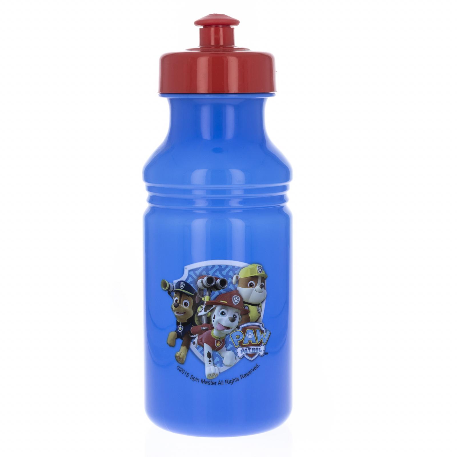 Paw Patrol BPA Free Kids Pull Top 17oz Plastic Water Bottle