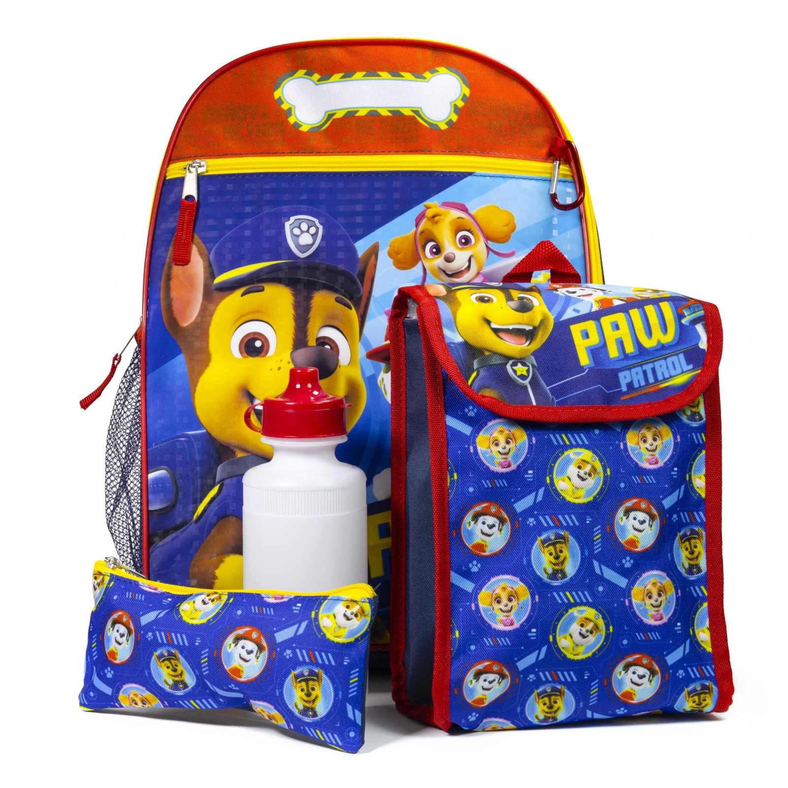 Paw Patrol 16 Inch Kids Backpack Set Lunch 5pc