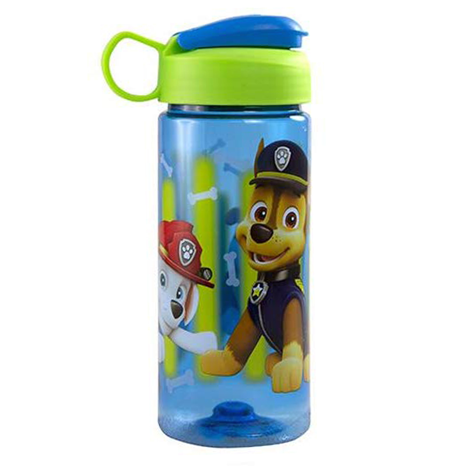 Paw Patrol from Nickelodeon 16.5oz Water Bottle with Carry Loop and Snap Lid