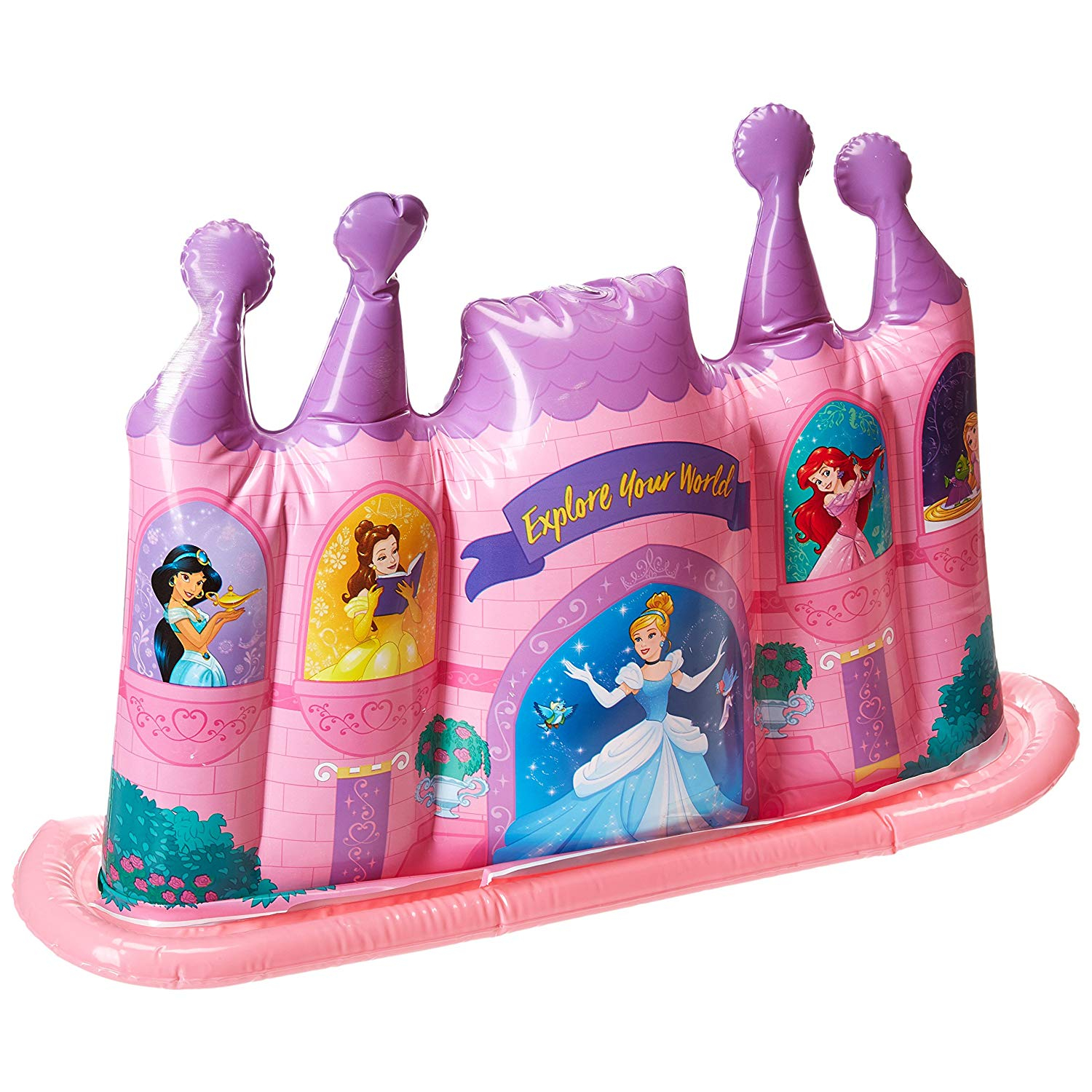 Disney Princess Inflatable Water Sprinkler Castle