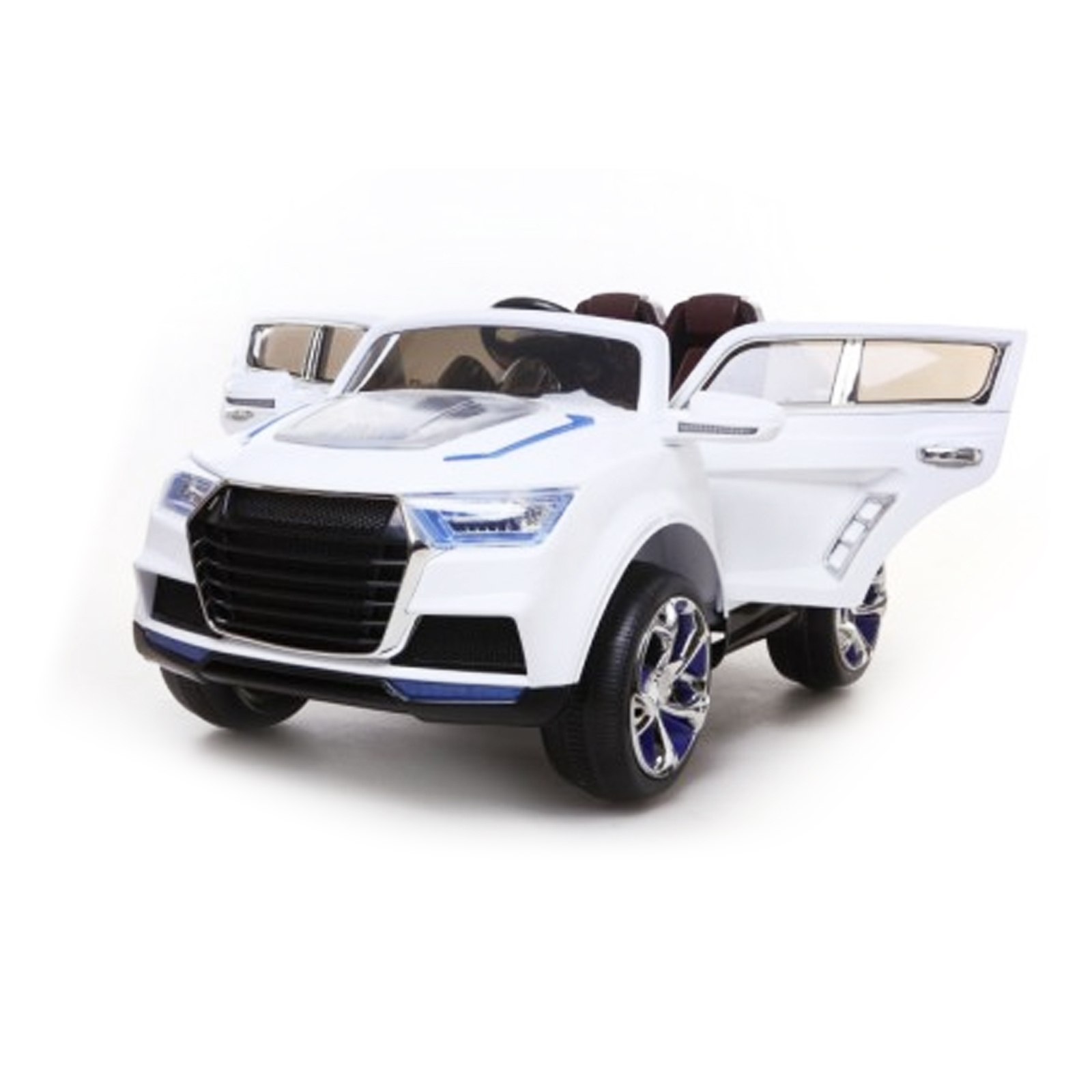 Q-731 SUV 12V Kids Battery Powered Ride On Car in White