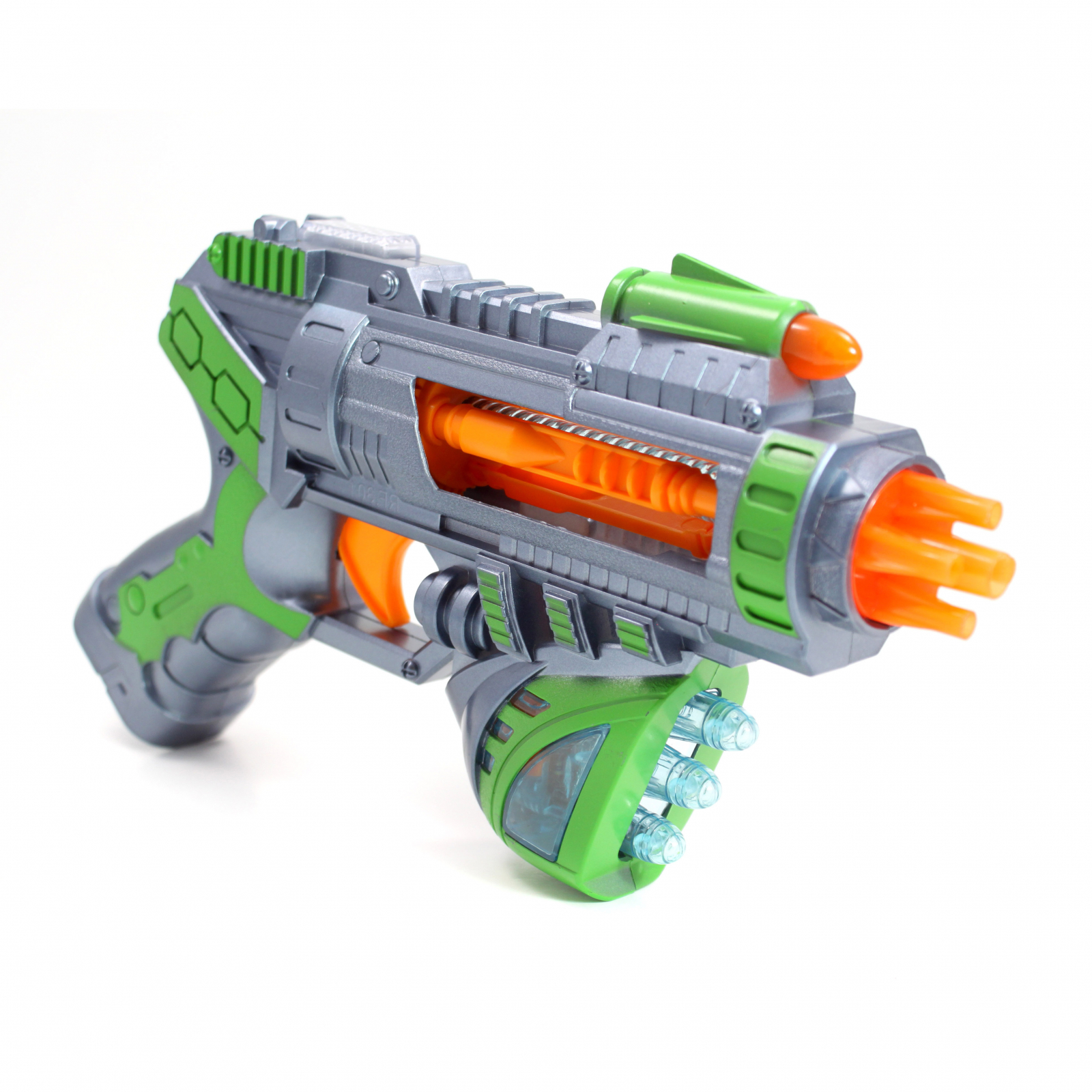 Kidplokio Superhero Galaxy Space Sonic Blaster Toy Gun Green