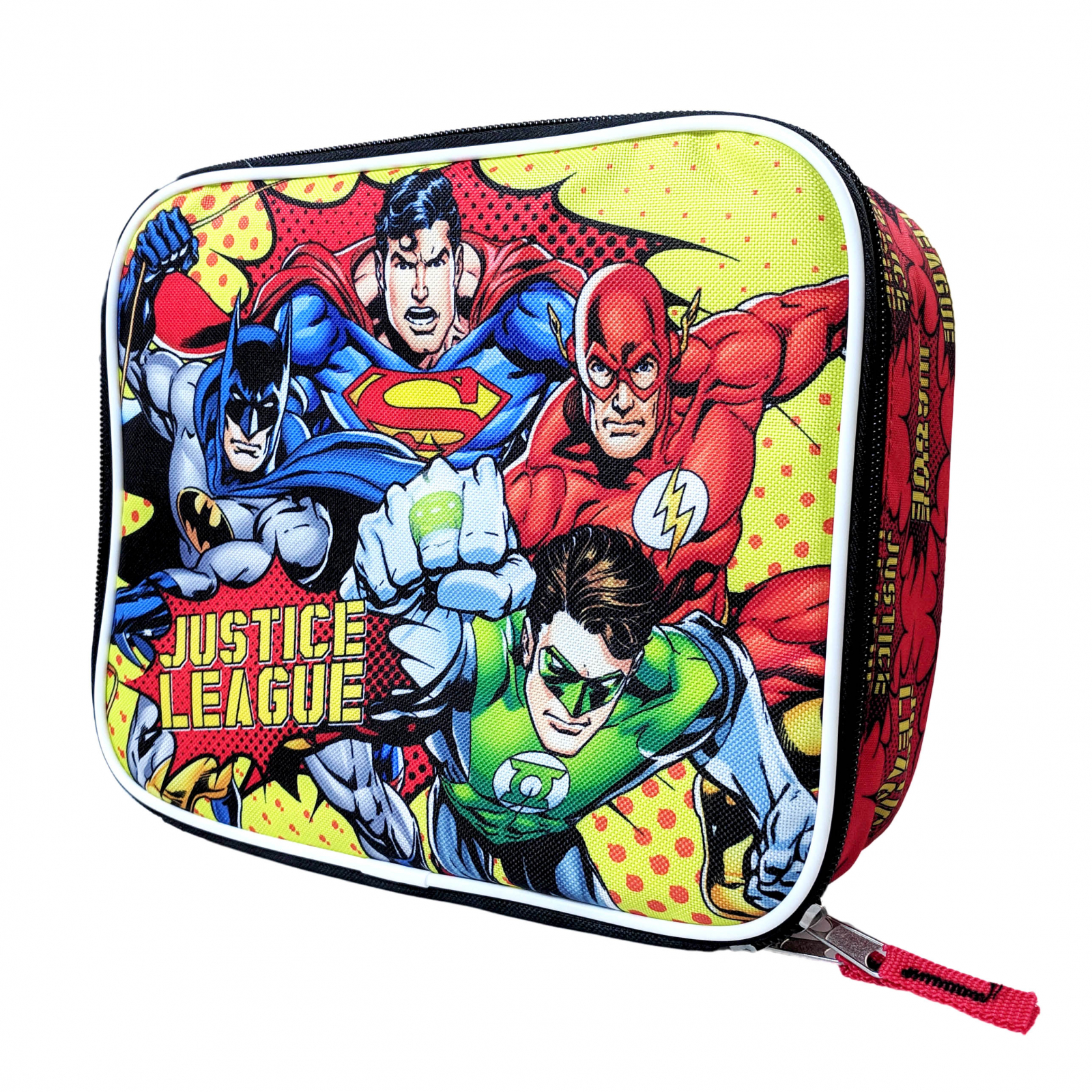 DC Comics Justice League Kids Insulated Lunch Bag Tote