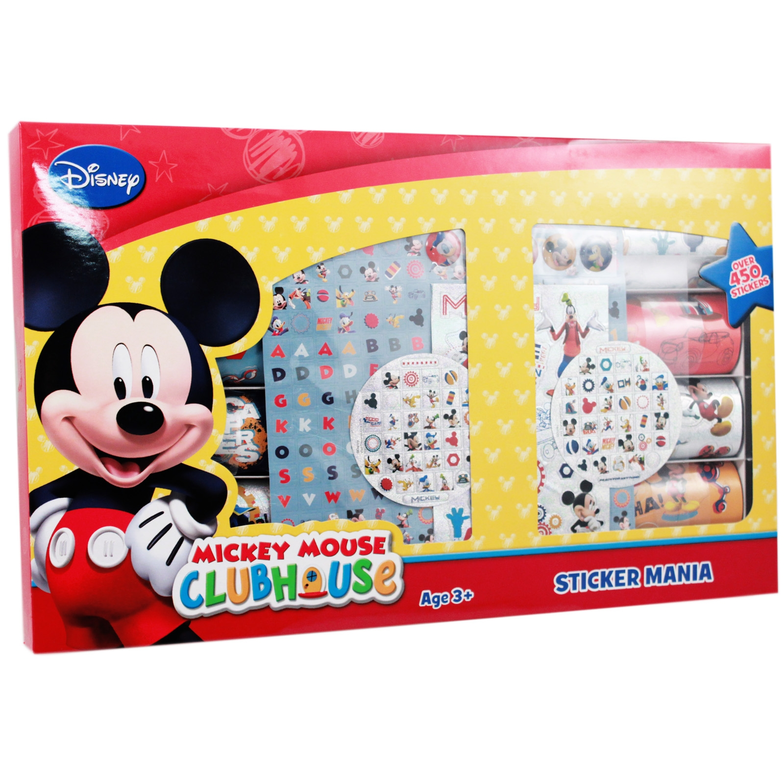 450pc Disney Junior Mickey Mouse Clubhouse Sticker Mania