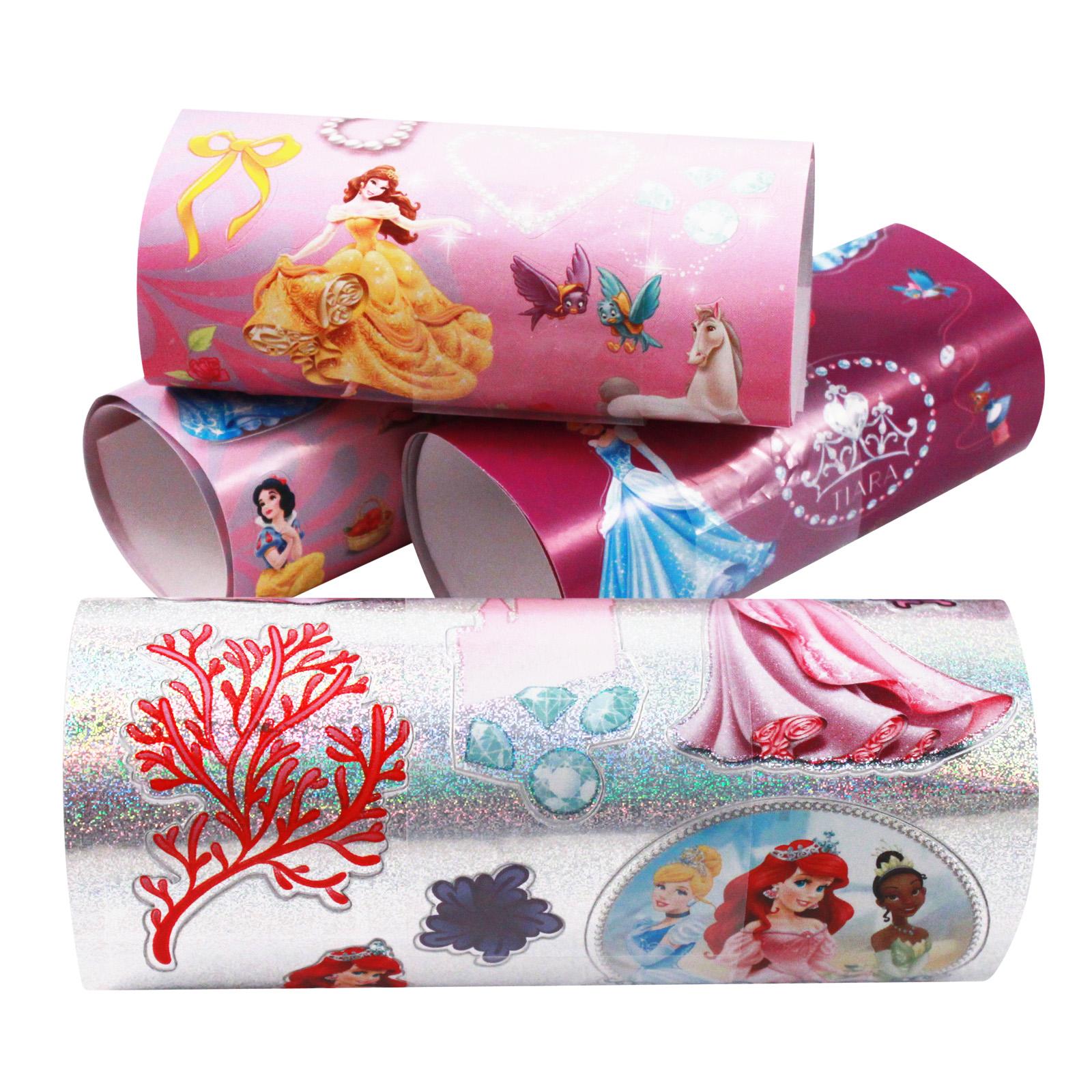 450pc Disney Princess Themed Sticker Mania Girls Art Supplies Crafting Set