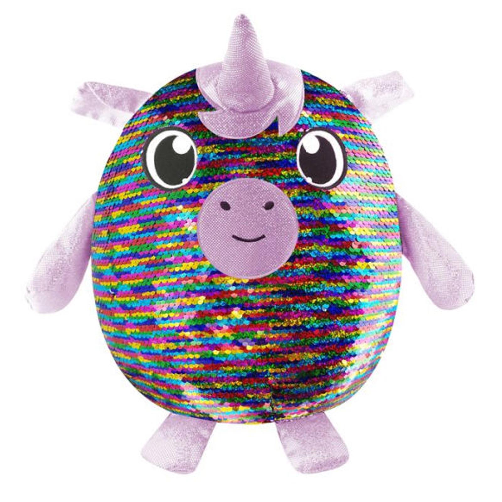 "Shimmeez 8"" Maggie Unicorn Reversible Sequin Plush Stuffed Animal"