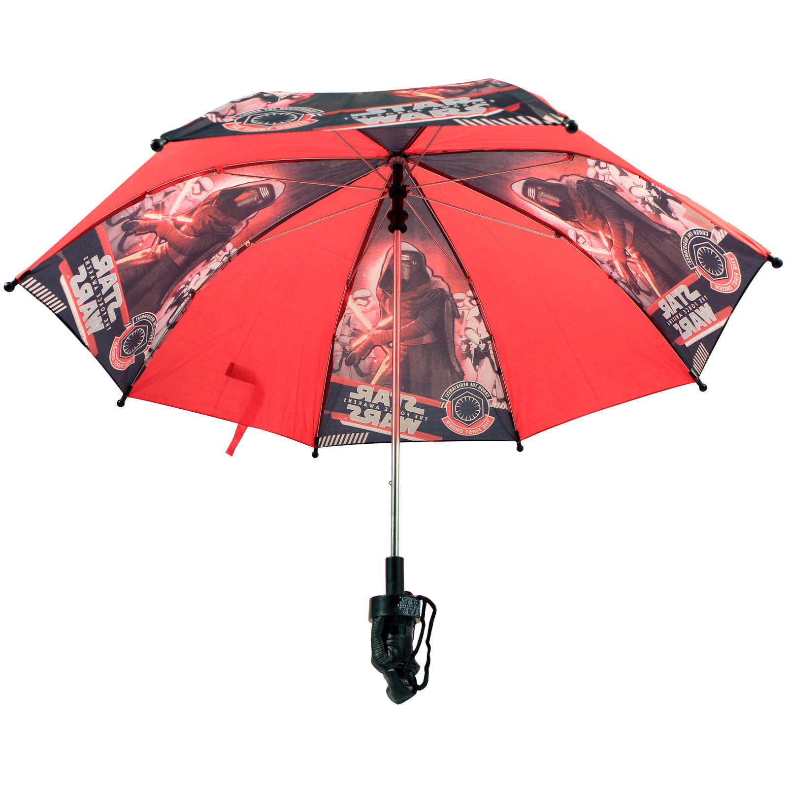 Star Wars Kids Rain Umbrella The Force Awakens Red